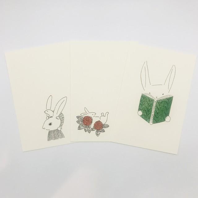 【トリノコ】 謄写版ポストカード 各種