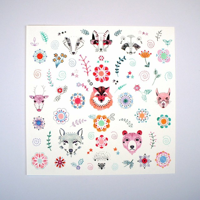 Menagerie - Giclee Print