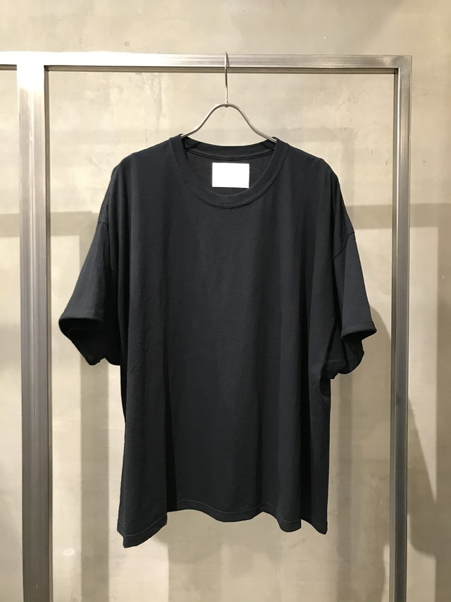 TrAnsference fixed proportion loose fit T-shirt - black