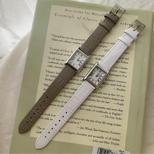 【NEW】DAYNYC telenda watch(white/gray)