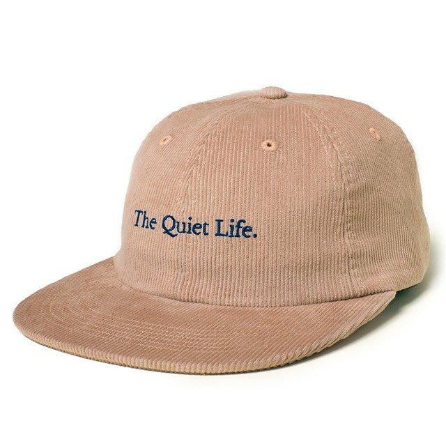 THE QUIET LIFE SERIF CORD POLO HAT BEIGE
