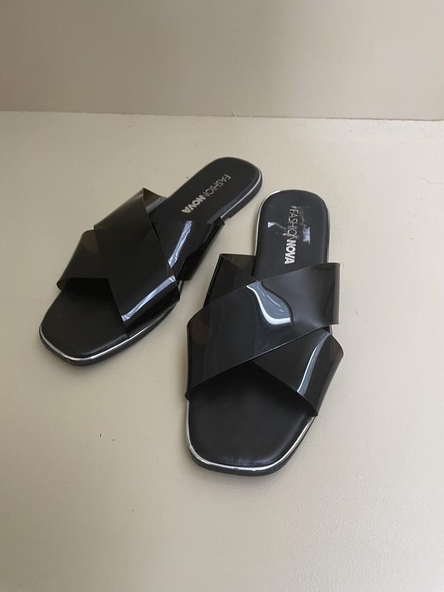 PVC flat sandal / 7SSGD02-03