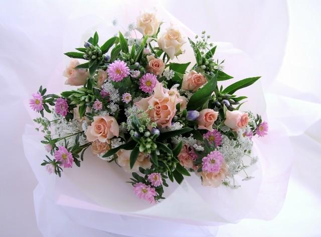 『Happy Flower お花の定期便』毎月1回お届けするフラワーギフト
