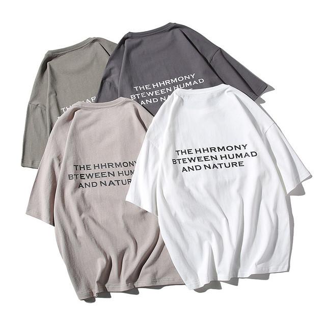 Tシャツ メンズ ラウンドネック 半袖 綿製 トップス 無地|全国送料無料! ma0284