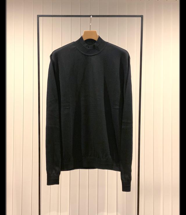 Mock-neck Sweater [ KMK set ] / Black