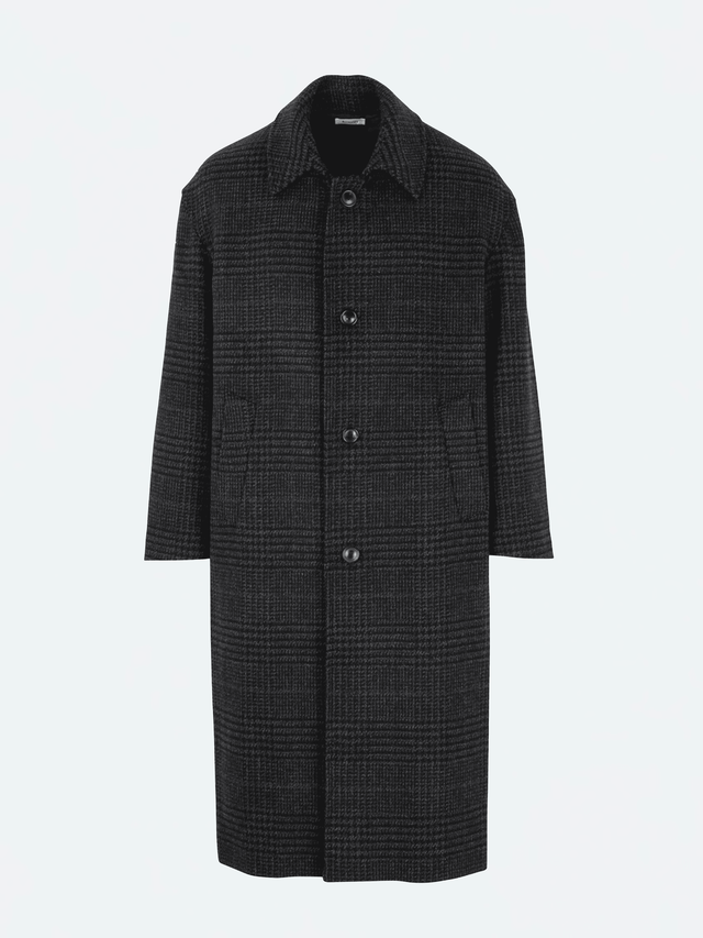 Lownn Over Coat Grey Check FW20-OVER-119.311-4