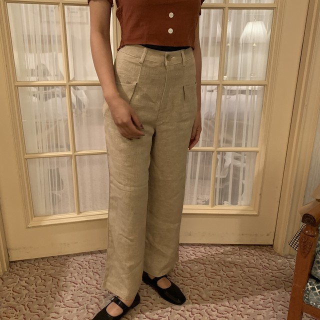 casual straight pants