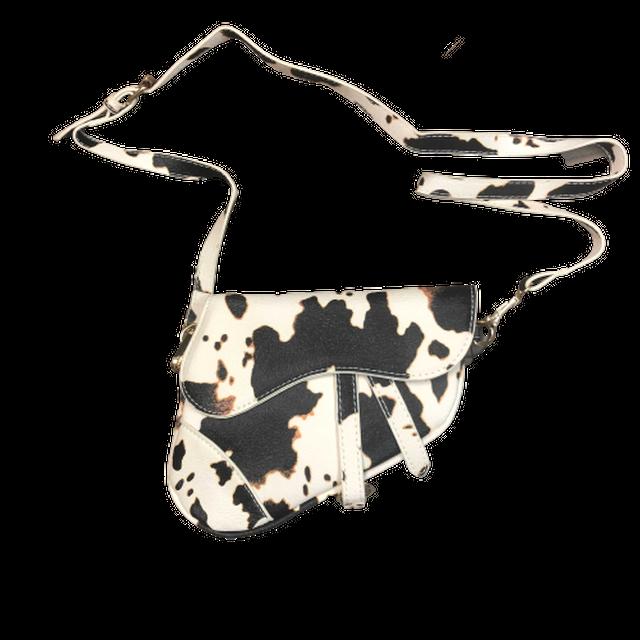 Cow pattern handbag LD0181