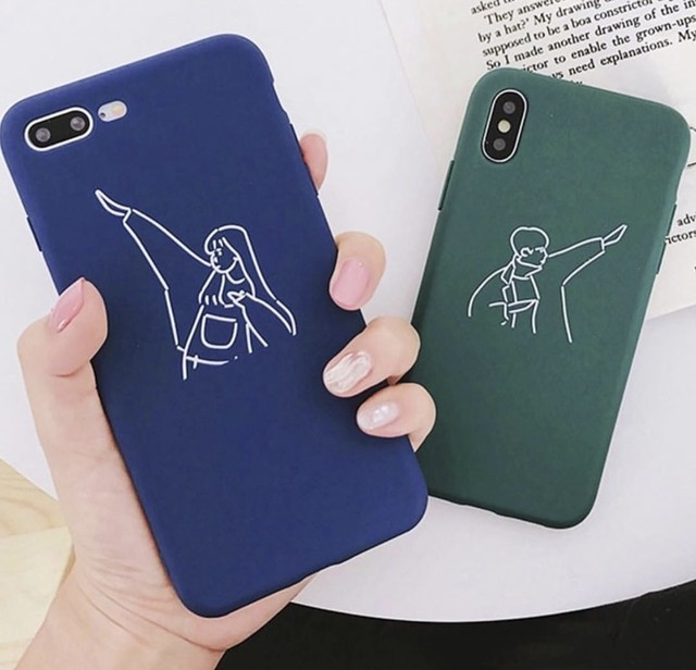 【オーダー商品】Couple bunny rabbit iphone case