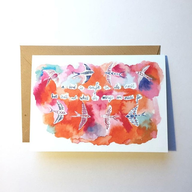 Greeting Card - Safe
