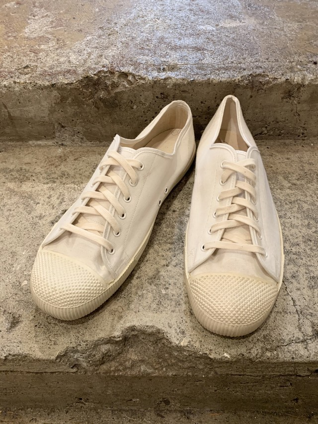 70-80's british army canvas shoes deadstock uk10
