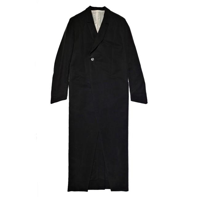 19W MODAL COAT #01BLACK