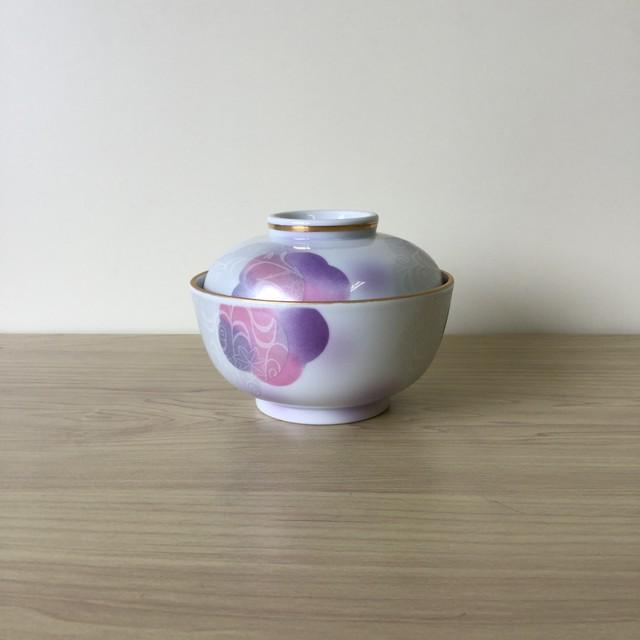 【波佐見焼】紫花だより蓋物