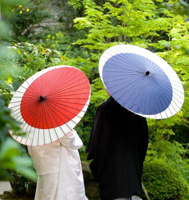 傘日和 日傘(竹柄) 美濃和紙