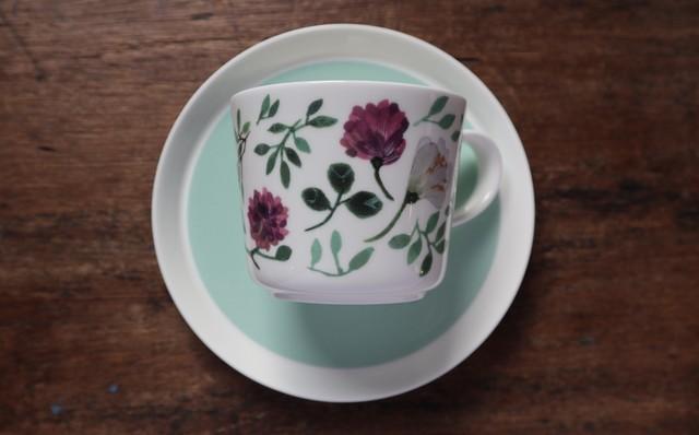 カップ&ソーサー(Grandmother's Bouquet) アンナエミリア