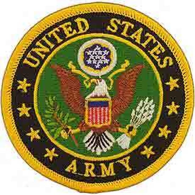 引続きセール主力商品20%OFF!  【ミリタリー】合衆国陸軍 U.S.Army シンボル【ワッペン】