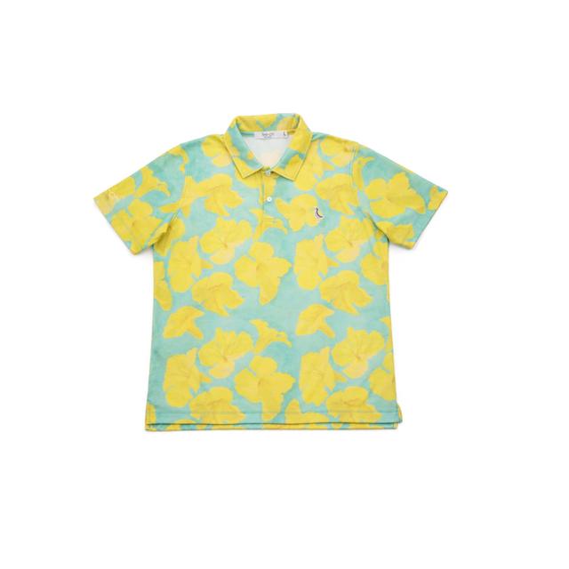 【 MEN`S 】サンゴクロス ポロシャツ 【Tee-chi x taion 2021 】(ipee)