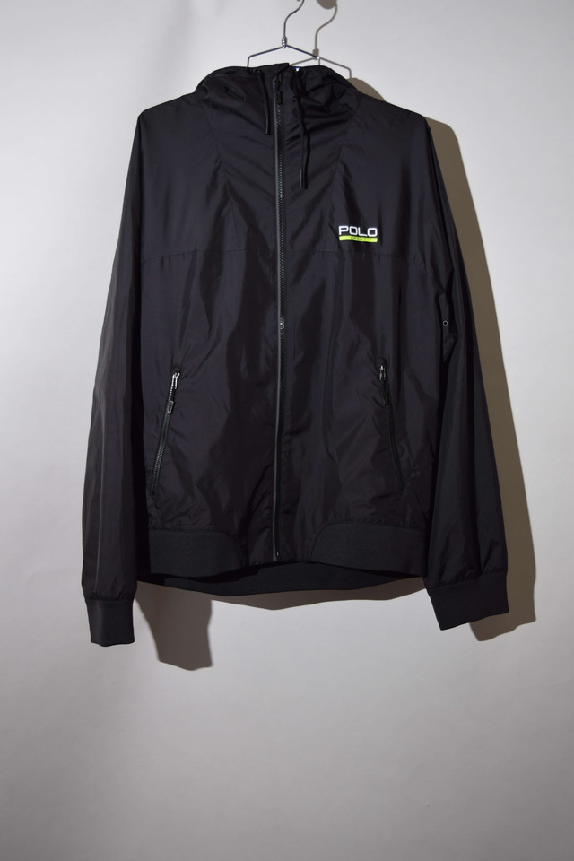 【Lサイズ】 POLO SPORT ポロスポーツ WIND BREAKER BLACK 400610190701