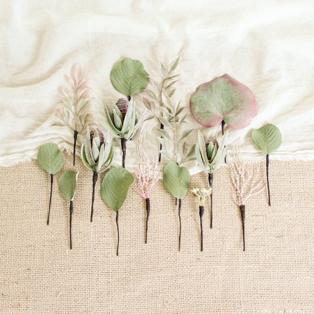 "Hair parts for  ""Summer Resort Bouquet"""