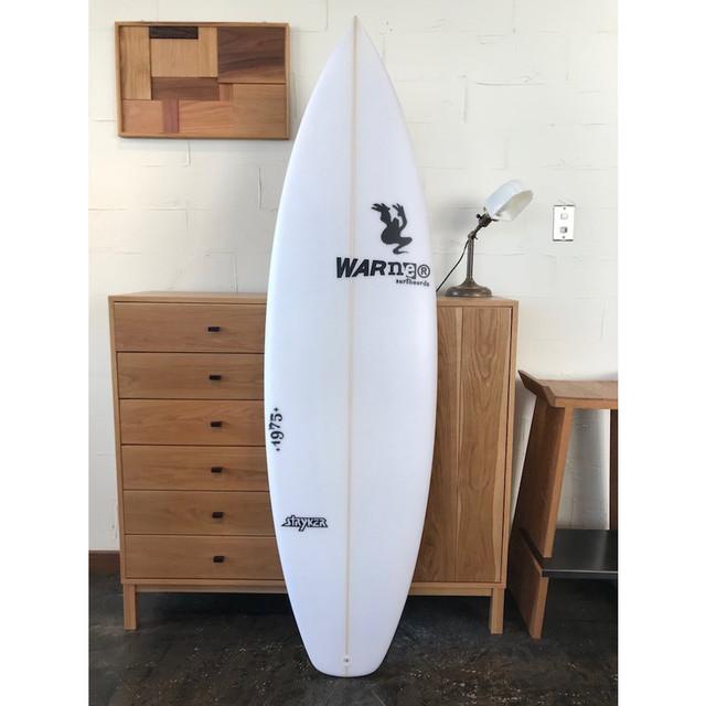"""STRYKER Model 5'9"""" x 19"""" x 2 1/4"""" // WARNER SURFBOARDS"""