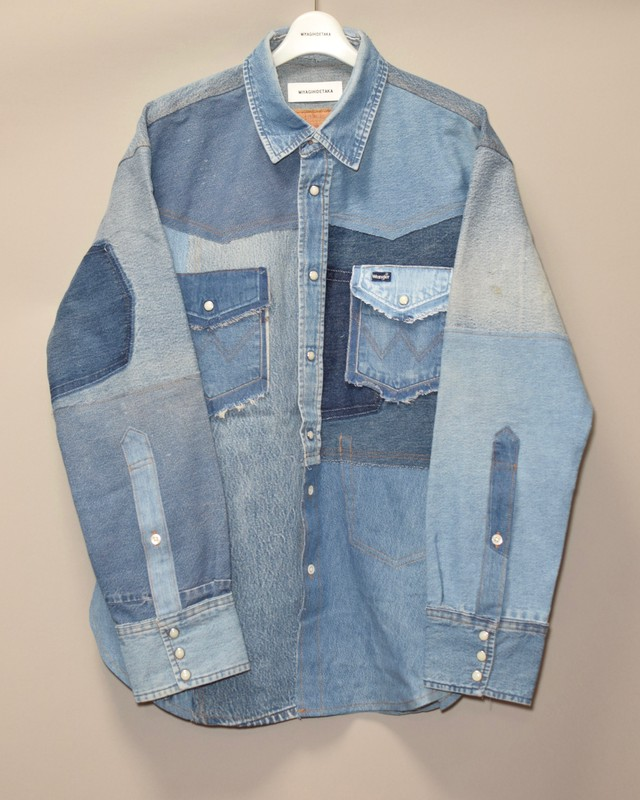 Denim shirt -7-