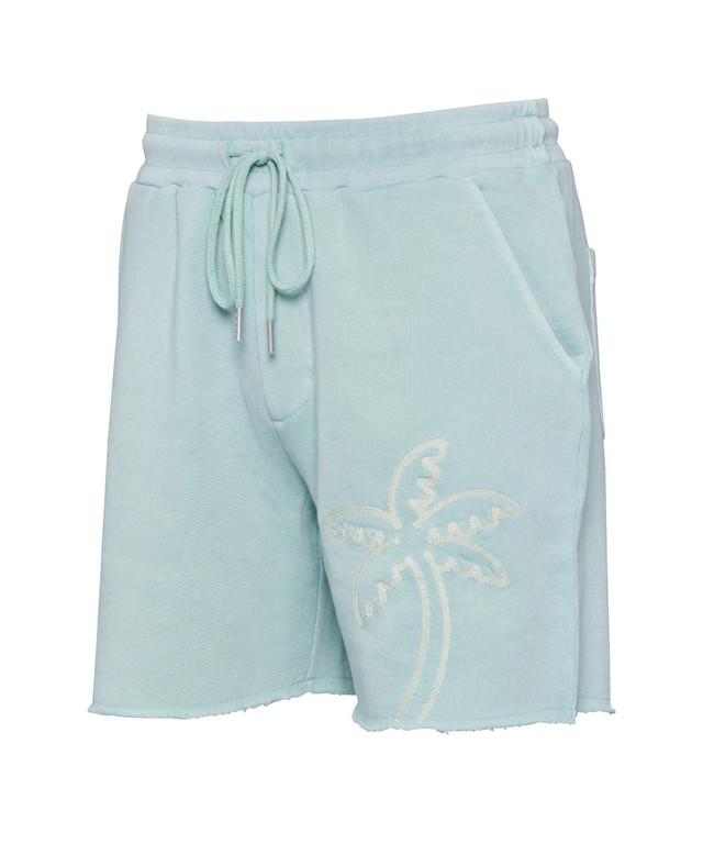PALM TREE PIGMENT SWEAT SHORTS[REP081]