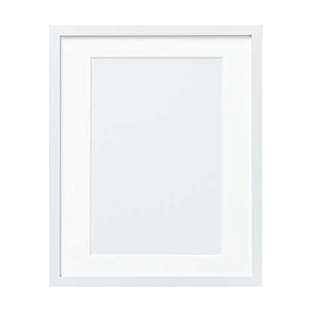 オリムパス製額縁 木製フレーム(ホワイト)W-45:C-7003