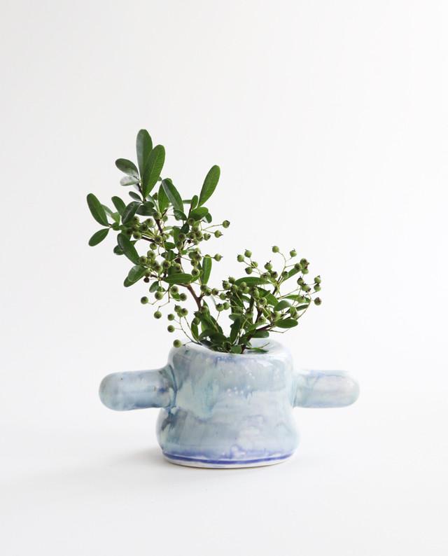切り株のフラワーベース  花瓶