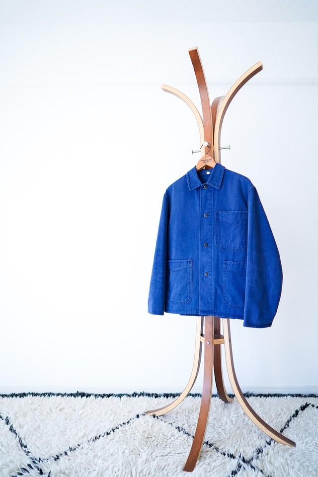 "【1950-60s】""V-Pocket"" French Work JKT / v466"