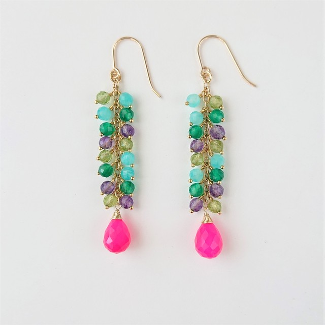 candy color pierce / earring 011