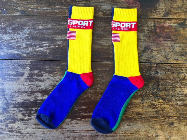 POLO SPORT MULTI COLOR SOCKS (MULTI)