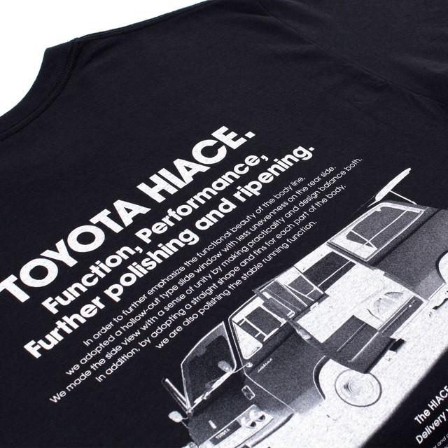 "TOYOTA ""HIACE AD"" Tee - Black"