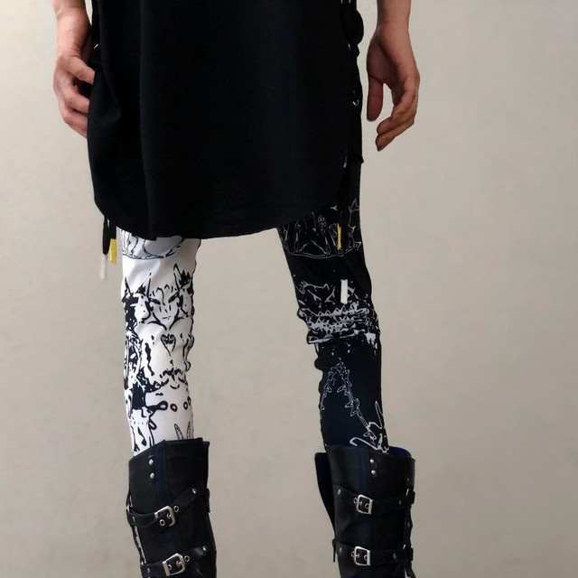 two-tone Leggings PANTS