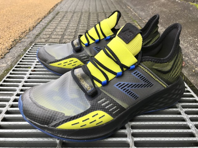 NEW BALANCE MRVBLLB (BLACK/YELLOW)