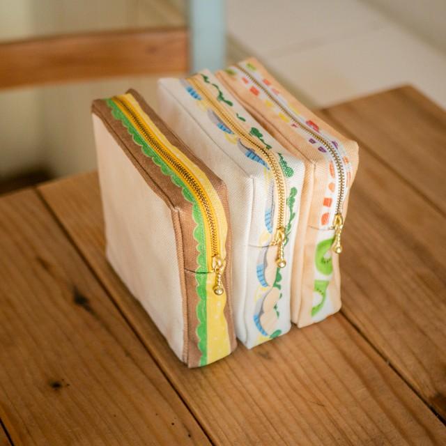食パンのサンドイッチポーチ ver.1