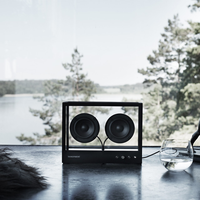 SMALL TRANSPARENT SPEAKER[TRANSPARENT]