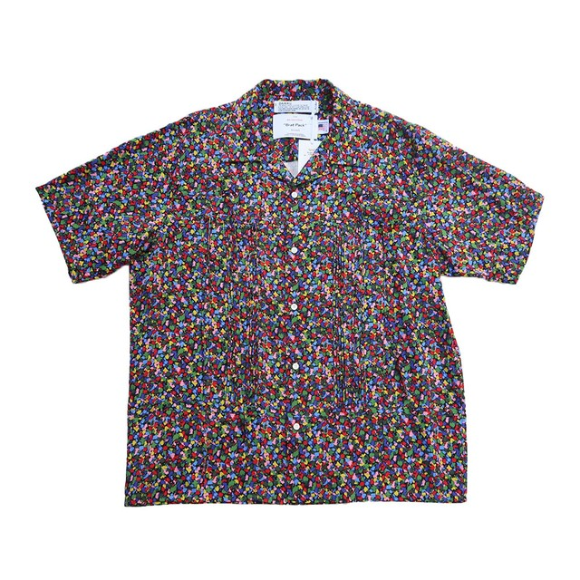 "DAIRIKU 21AW ""Boogie"" Open Collar Shirt (Multi)"