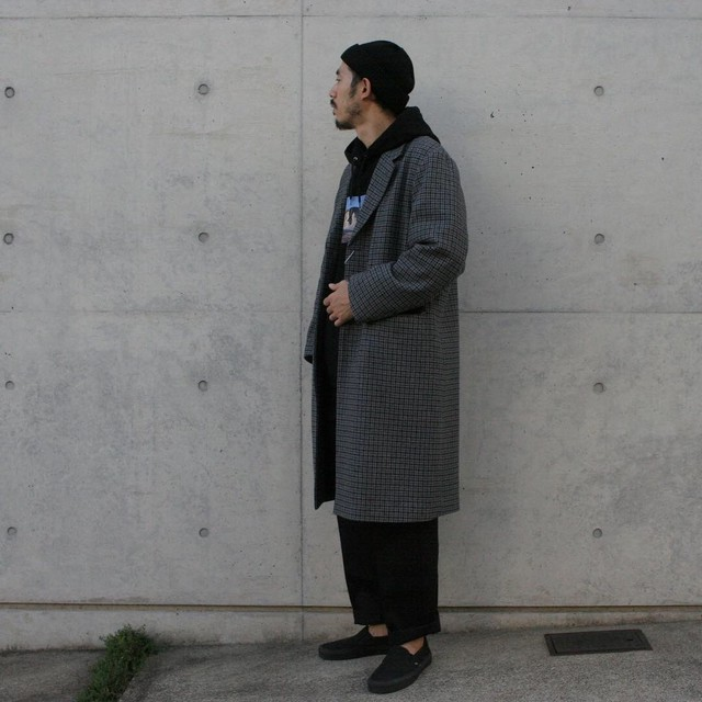 UNIVERSAL PRODUCTS CHESTER COAT [GRAY CHECK]