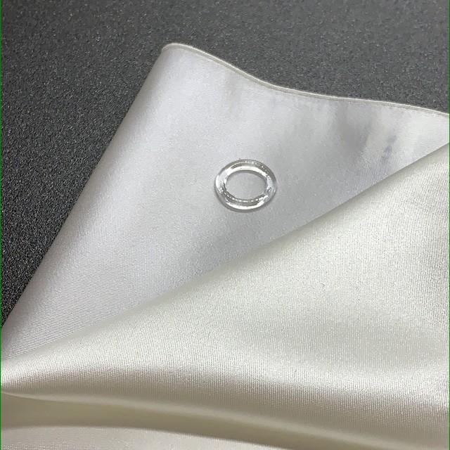 SHAKUNONE' リングポケットチーフ ホワイトソリッド