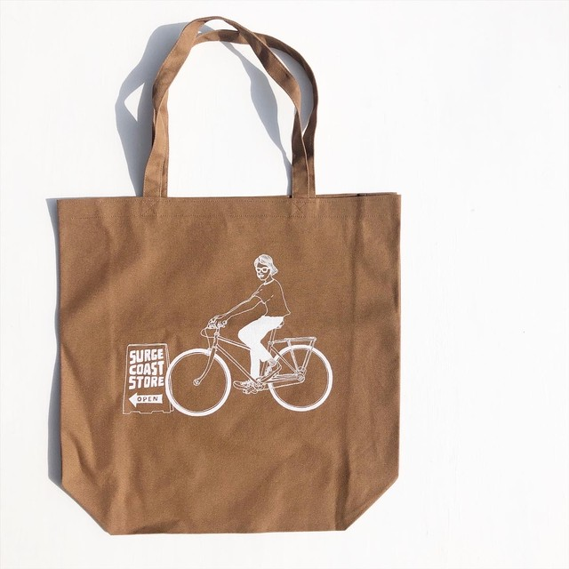 "Surge Coast Store ""Bicycle"" Tote Bag"