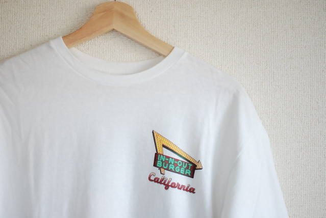 【UNISEX】USED Plain T-shirt old Banana Republic