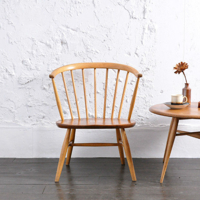 Ercol Fire Side Chair (Smoker's Chair) / アーコール ファイヤーサイド チェア / R1806-0002