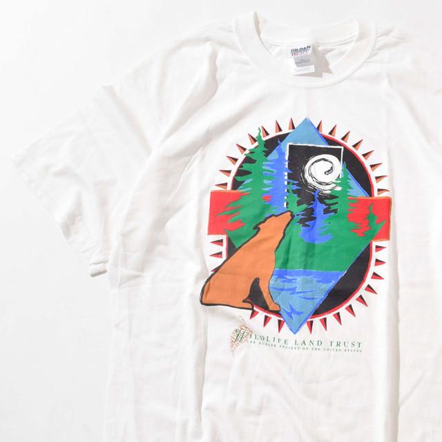 【Lサイズ】Wildlife Land Trust ワイルドライフ ロードトラスト TEE 半袖Tシャツ WHT ホワイト L 400601191061