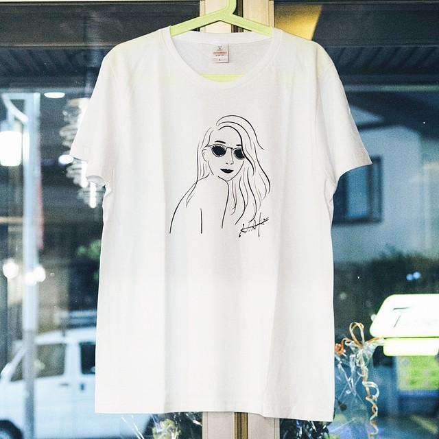 Tシャツ(愛花笑'S)ホワイト