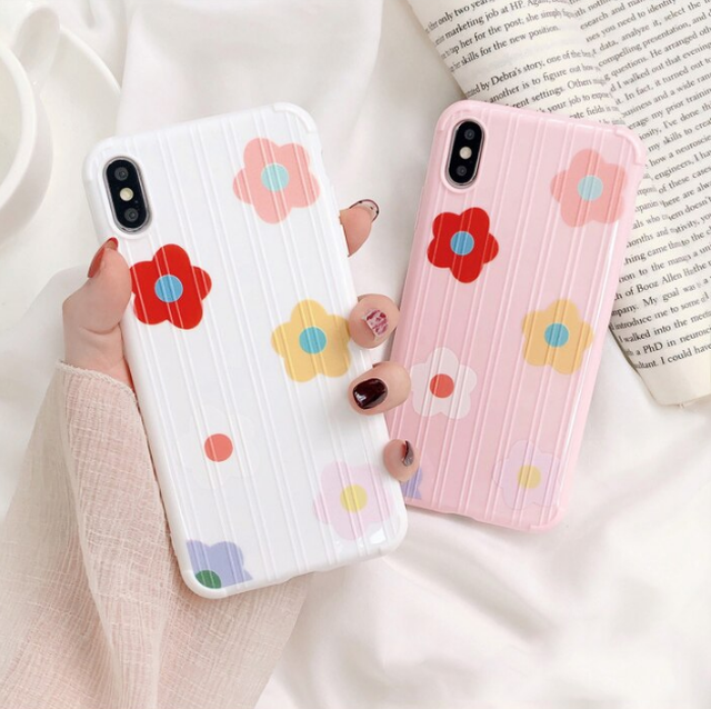 【オーダー商品】 Flowers iphone case