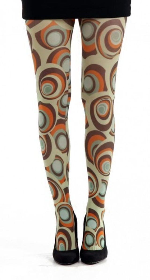 英国PAMELA MANN Carnaby Printed Tights