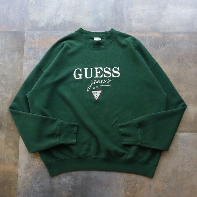 made in USA GUESS design sweat