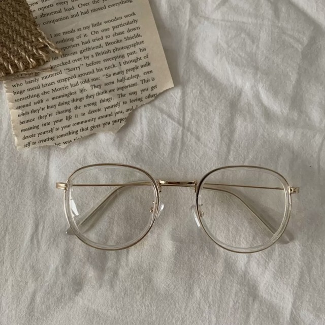 30%OFF clear glasses / 伊達メガネ / LE-94