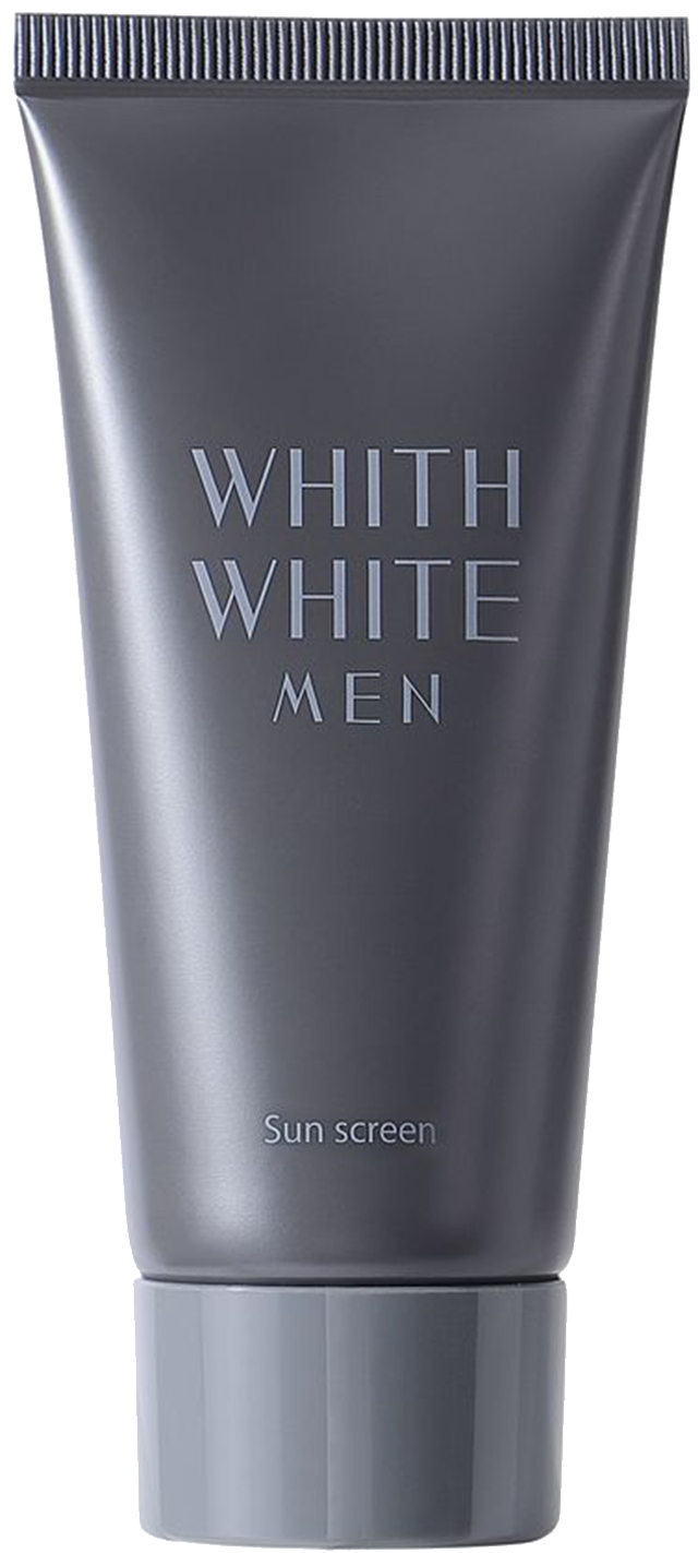 WHITH WHITE MEN 日焼け止め 【 SPF50 + PA ++++ 】 50g