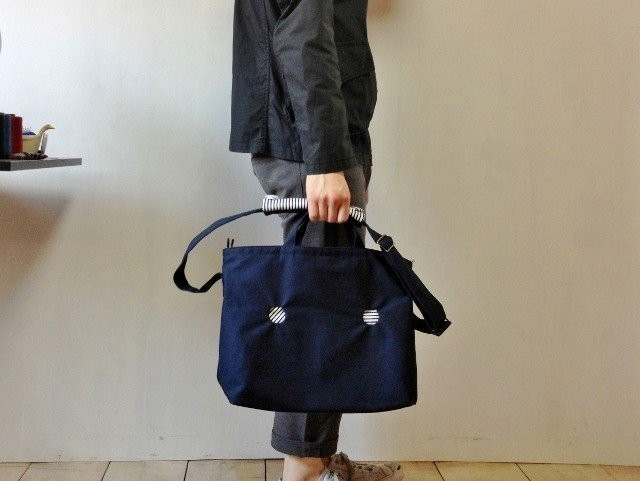 【受注製作】MARUMADO BAG | NAVY